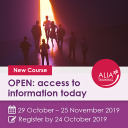 OPEN: access to information today - Events - ALIA