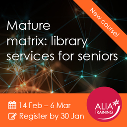 Mature Matrix: library services for seniors